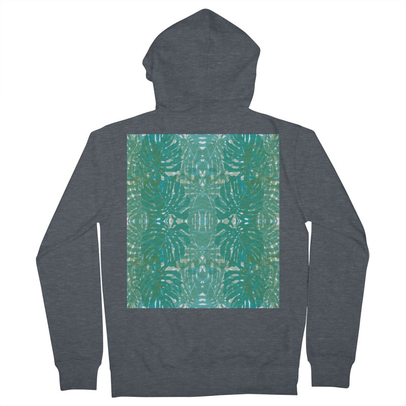 Jungle Women's French Terry Zip-Up Hoody by snapdragon64's Shop