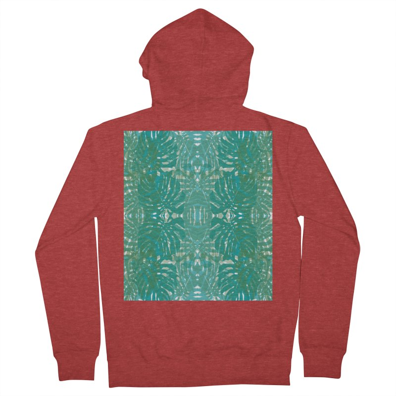 Jungle Men's French Terry Zip-Up Hoody by snapdragon64's Shop