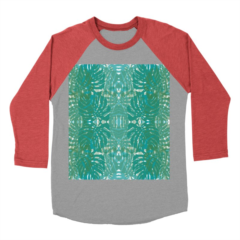 Jungle Women's Baseball Triblend Longsleeve T-Shirt by snapdragon64's Shop