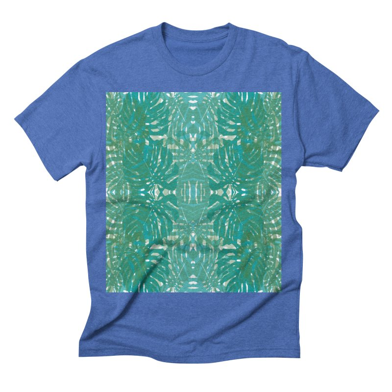 Jungle Men's Triblend T-shirt by snapdragon64's Shop