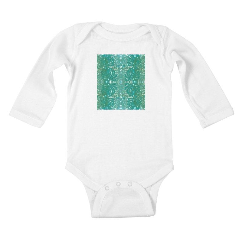 Jungle Kids Baby Longsleeve Bodysuit by snapdragon64's Shop