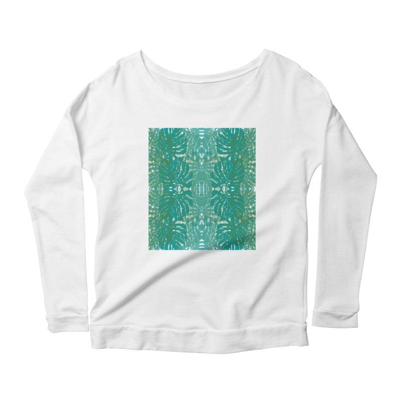 Jungle Women's Scoop Neck Longsleeve T-Shirt by snapdragon64's Shop