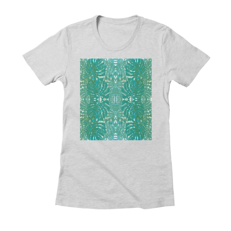 Jungle Women's Fitted T-Shirt by snapdragon64's Shop