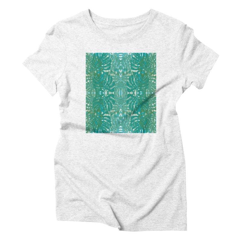 Jungle Women's Triblend T-shirt by snapdragon64's Shop