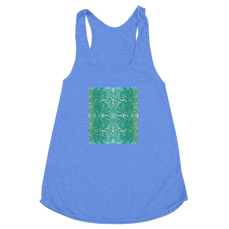 Jungle Women's Racerback Triblend Tank by snapdragon64's Shop