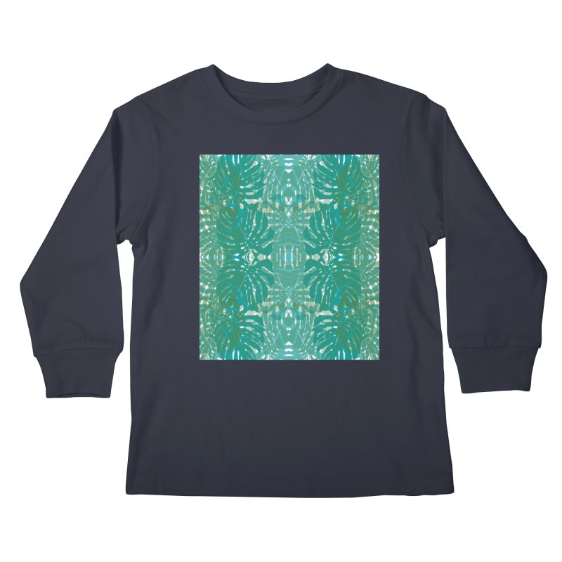 Jungle Kids Longsleeve T-Shirt by snapdragon64's Shop