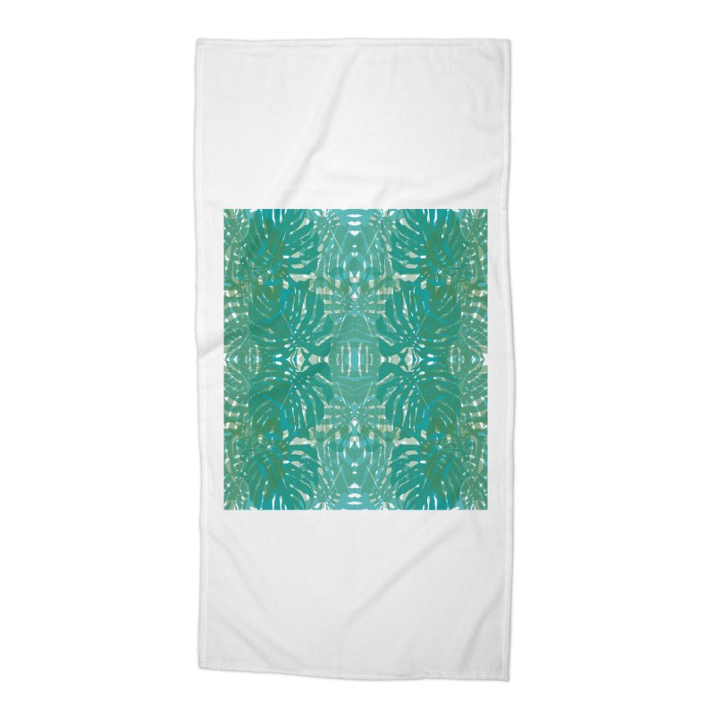 Jungle Accessories Beach Towel by snapdragon64's Shop