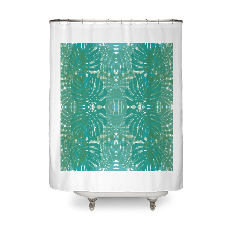 Jungle Home Shower Curtain by snapdragon64's Shop