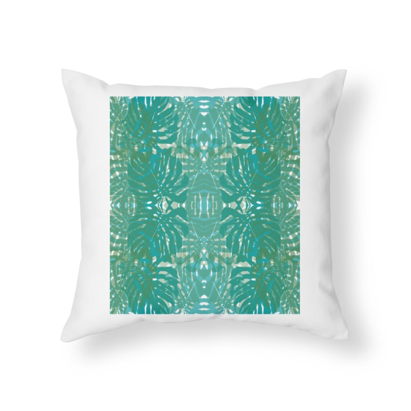 Jungle Home Throw Pillow by snapdragon64's Shop