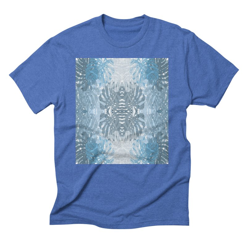 Jungle blues Men's T-Shirt by snapdragon64's Shop
