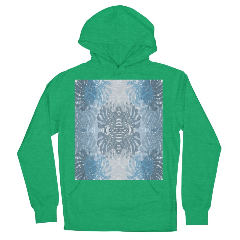 Jungle blues Women's Pullover Hoody by snapdragon64's Shop