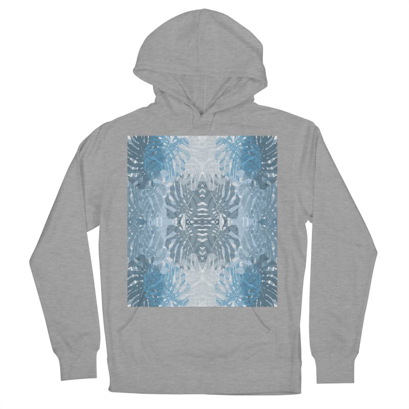 Jungle blues Men's French Terry Pullover Hoody by snapdragon64's Shop