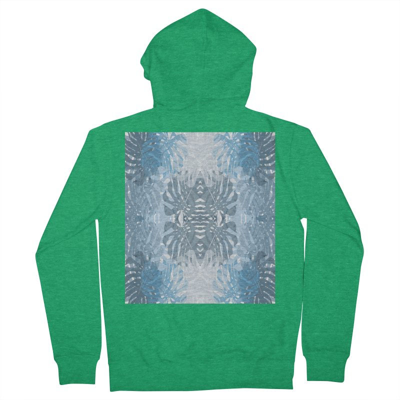 Jungle blues Men's Zip-Up Hoody by snapdragon64's Shop