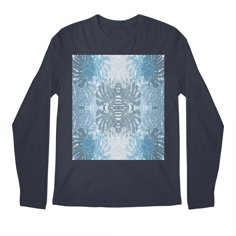 Jungle blues Men's Longsleeve T-Shirt by snapdragon64's Shop