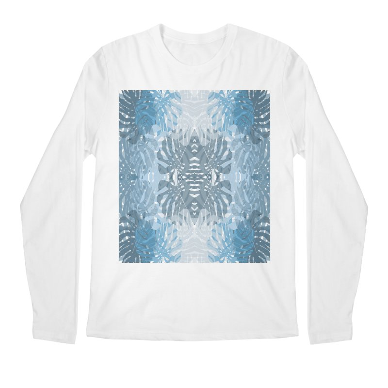 Jungle blues Men's Regular Longsleeve T-Shirt by snapdragon64's Shop