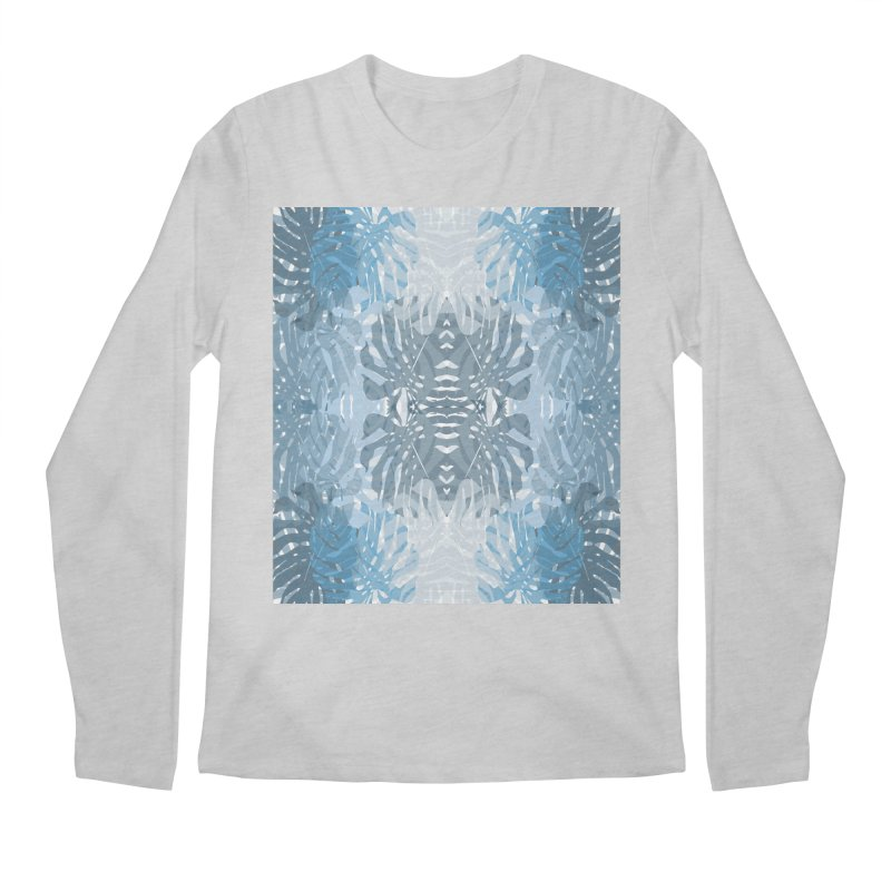 Jungle blues Men's Longsleeve T-Shirt by snapdragon64's Shop