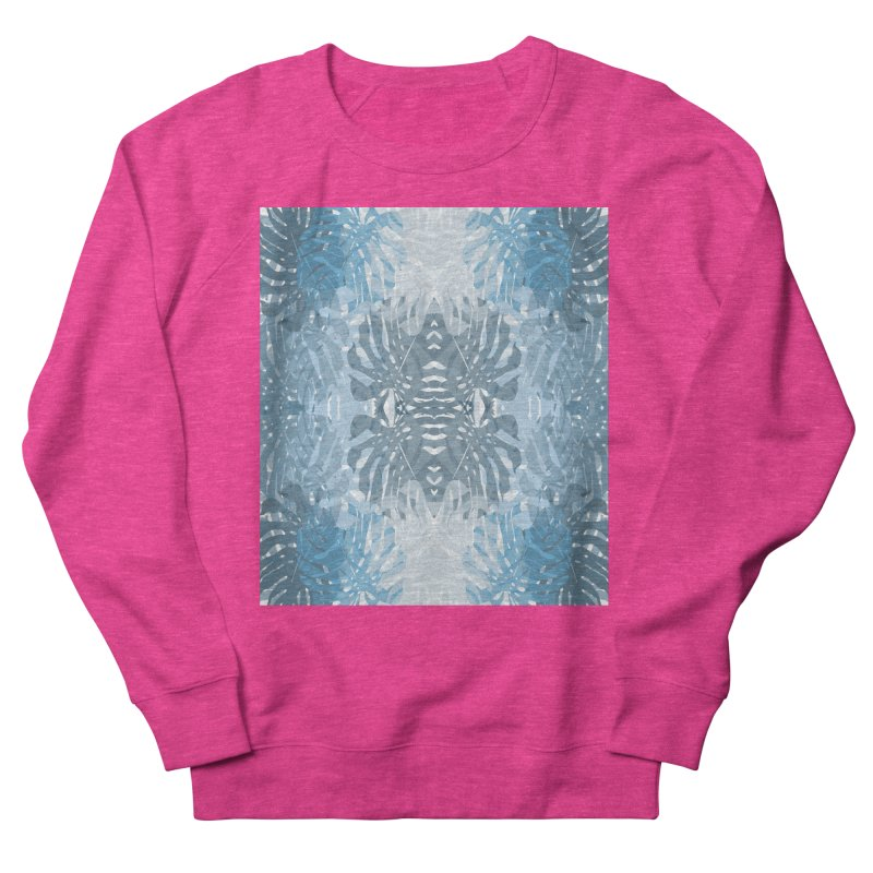 Jungle blues Women's French Terry Sweatshirt by snapdragon64's Shop