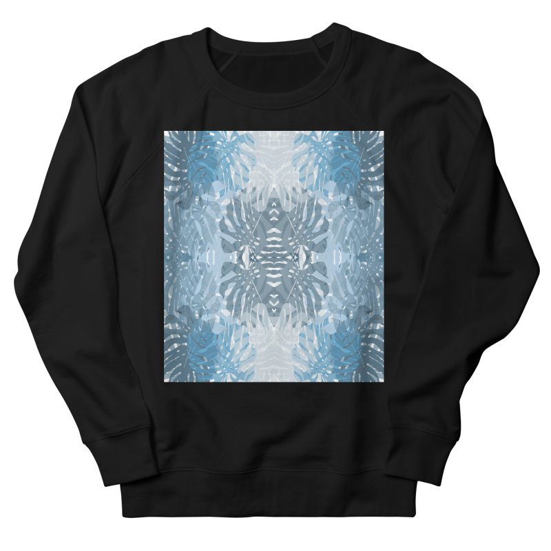 Jungle blues Men's French Terry Sweatshirt by snapdragon64's Shop