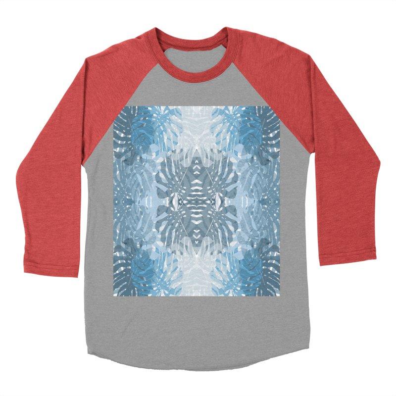 Jungle blues Women's Baseball Triblend Longsleeve T-Shirt by snapdragon64's Shop