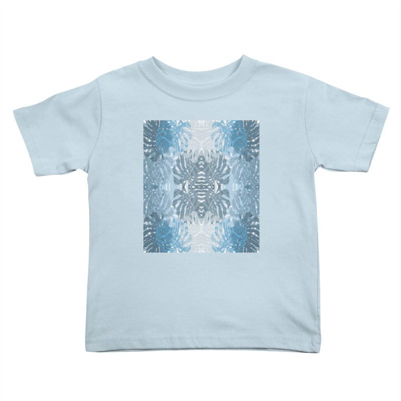 Jungle blues Kids Toddler T-Shirt by snapdragon64's Shop