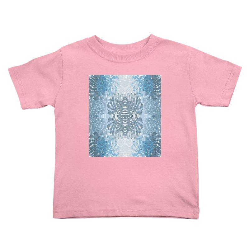Jungle blues Kids Toddler T-Shirt by snapdragon64's Shop