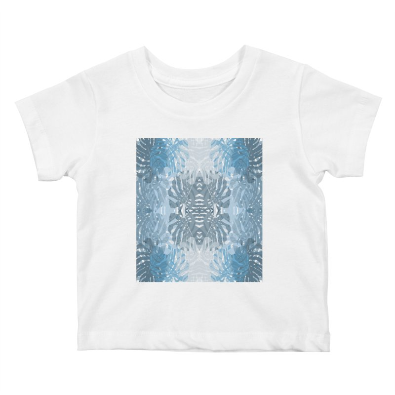 Jungle blues Kids Baby T-Shirt by snapdragon64's Shop