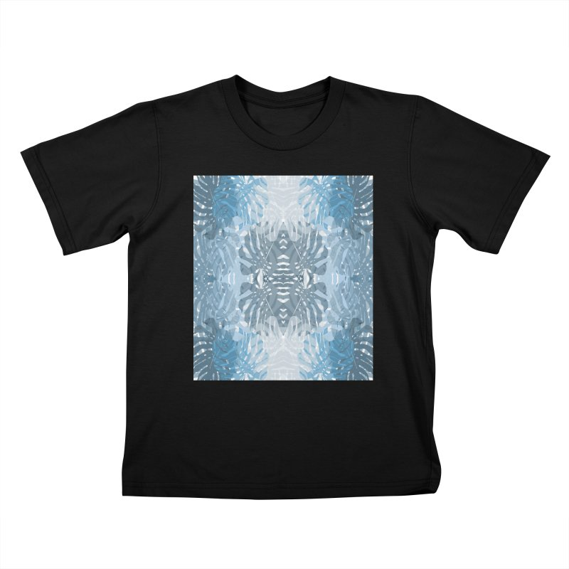 Jungle blues Kids T-shirt by snapdragon64's Shop