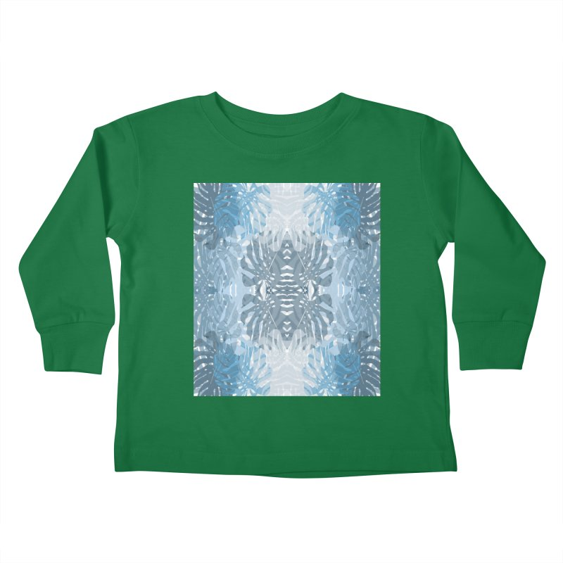 Jungle blues Kids Toddler Longsleeve T-Shirt by snapdragon64's Shop