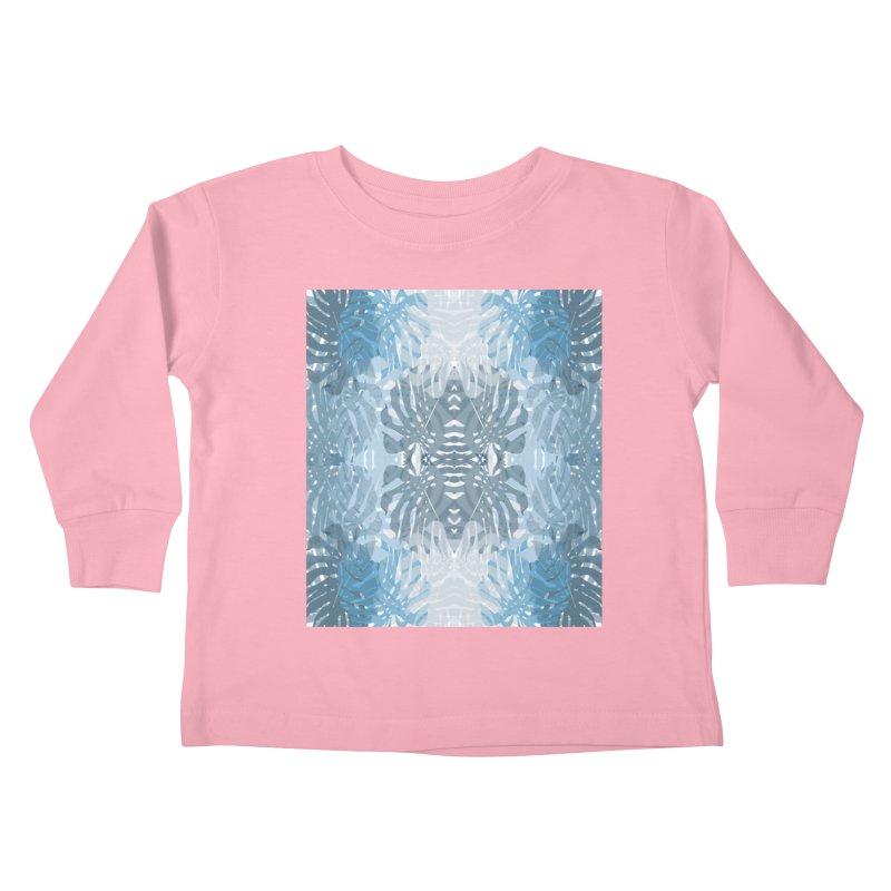 Jungle blues Kids Toddler Longsleeve T-Shirt by snapdragon64's Shop
