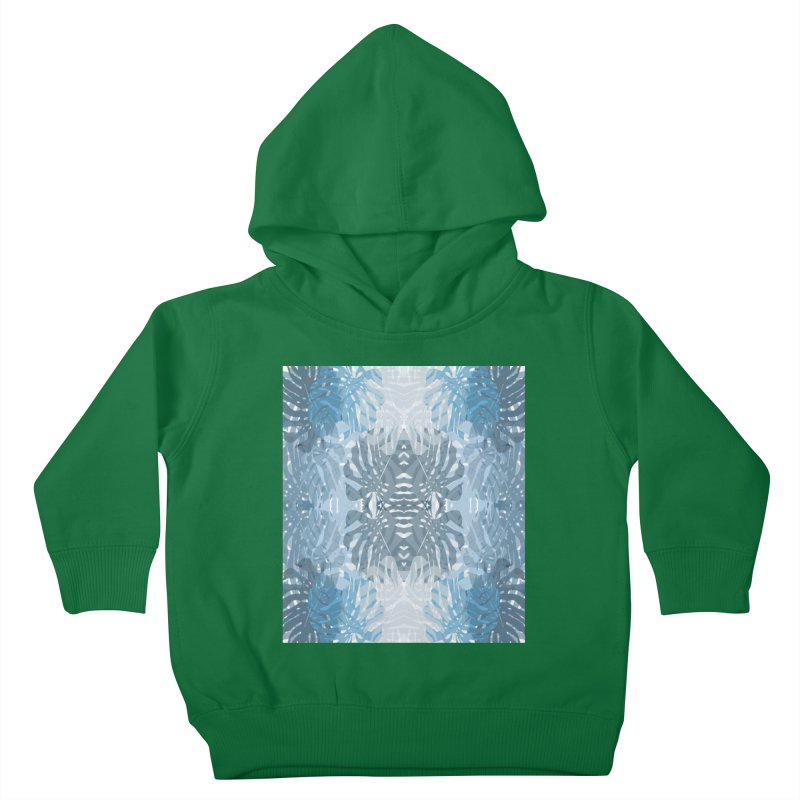 Jungle blues Kids Toddler Pullover Hoody by snapdragon64's Shop
