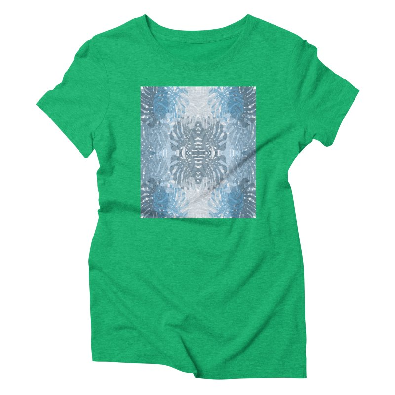 Jungle blues Women's Triblend T-Shirt by snapdragon64's Shop