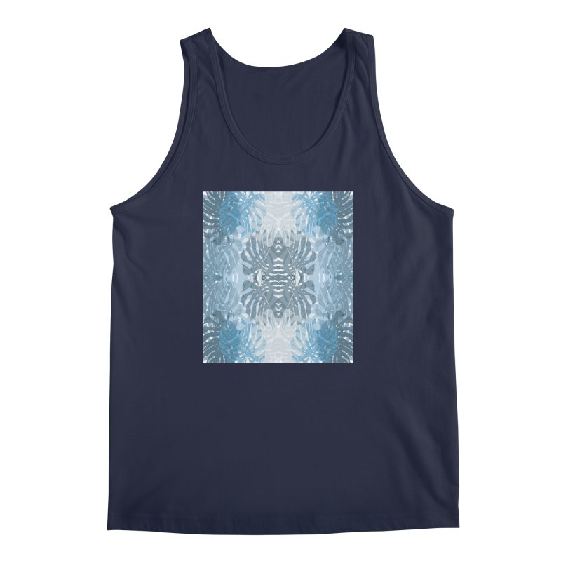 Jungle blues Men's Regular Tank by snapdragon64's Shop