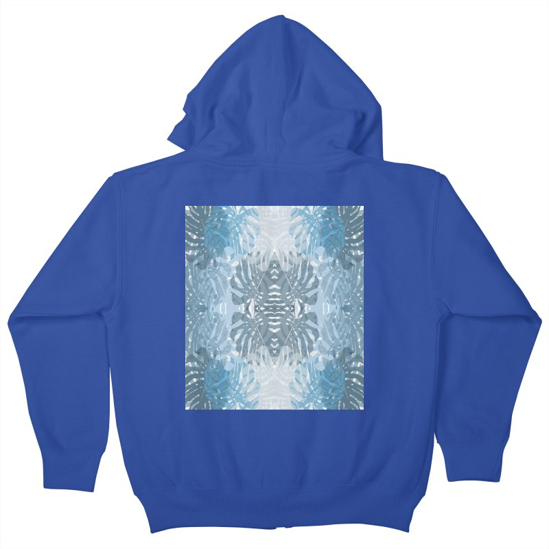 Jungle blues Kids Zip-Up Hoody by snapdragon64's Shop