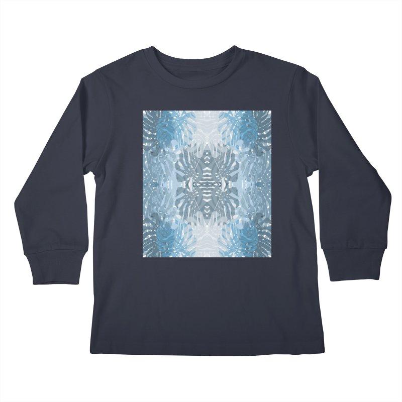 Jungle blues Kids Longsleeve T-Shirt by snapdragon64's Shop