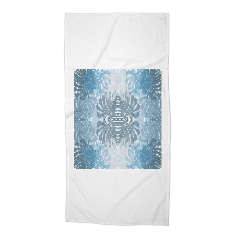 Jungle blues Accessories Beach Towel by snapdragon64's Shop