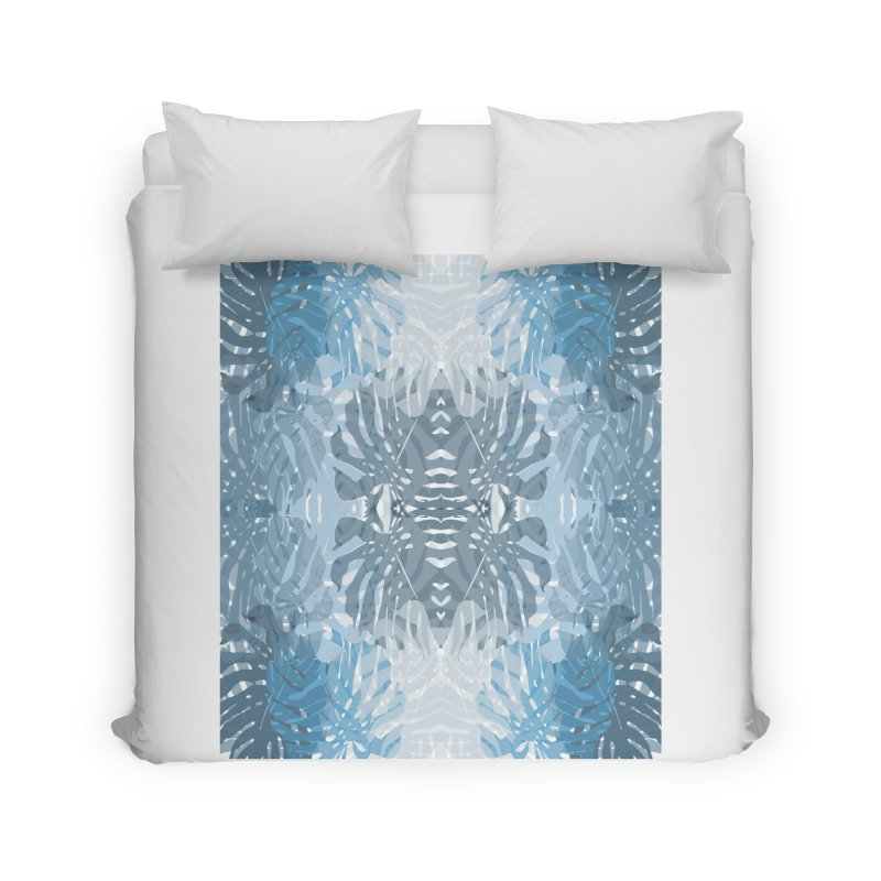 Jungle blues Home Duvet by snapdragon64's Shop