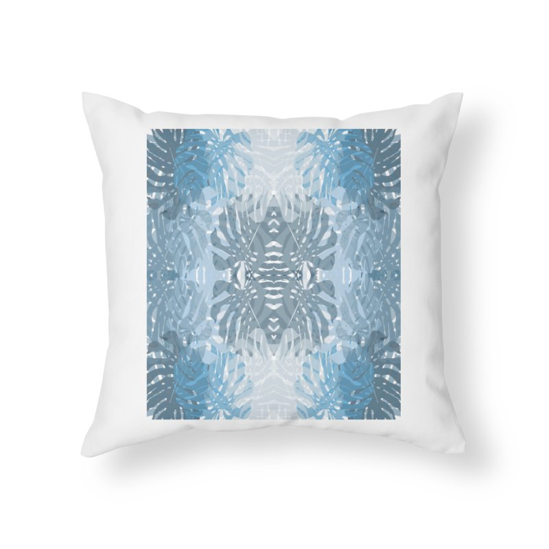Jungle blues Home Throw Pillow by snapdragon64's Shop
