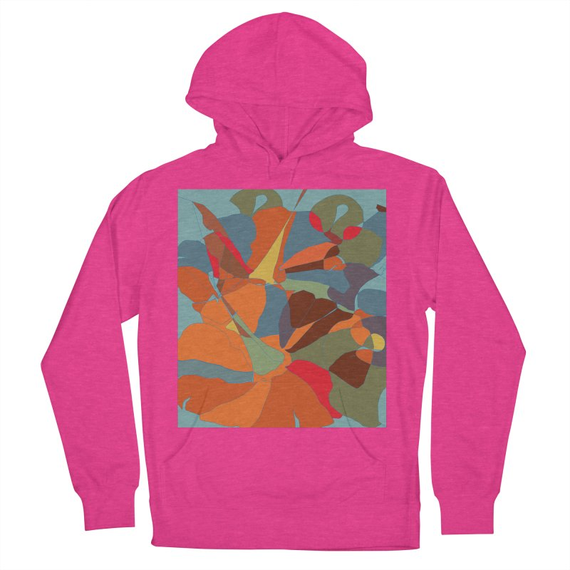 Pumpkin abstract Men's French Terry Pullover Hoody by snapdragon64's Shop