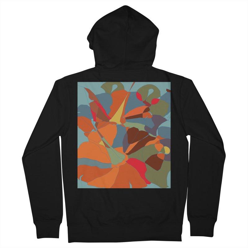 Pumpkin abstract Men's Zip-Up Hoody by snapdragon64's Shop
