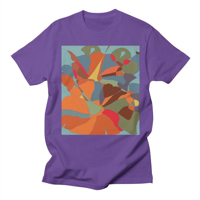 Pumpkin abstract Men's T-Shirt by snapdragon64's Shop