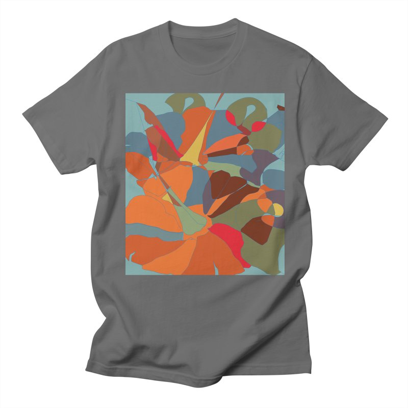 Pumpkin abstract Men's T-Shirt by snapdragon64's Shop