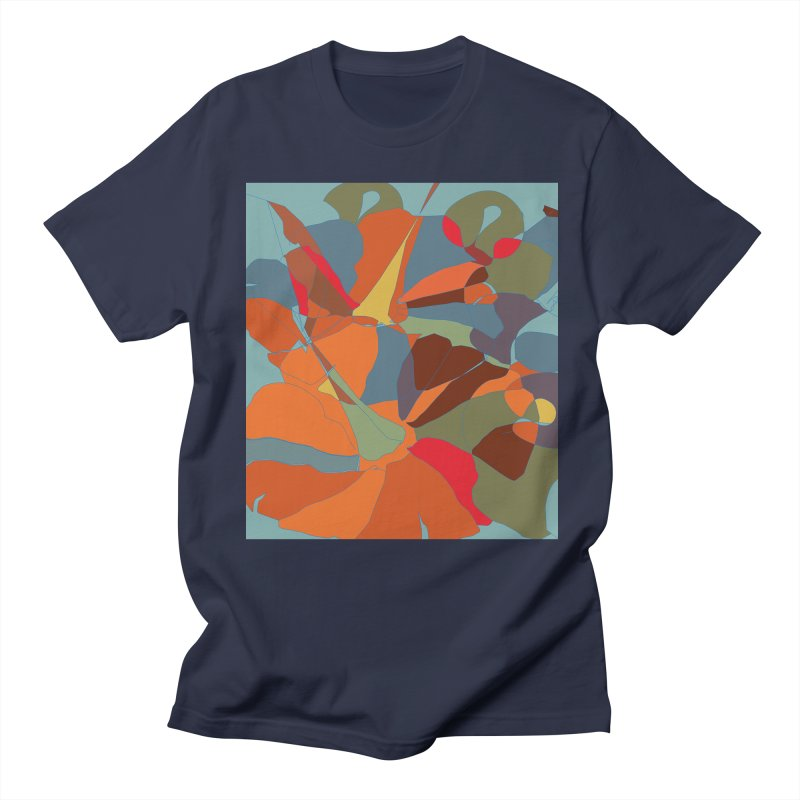 Pumpkin abstract Men's Regular T-Shirt by snapdragon64's Shop