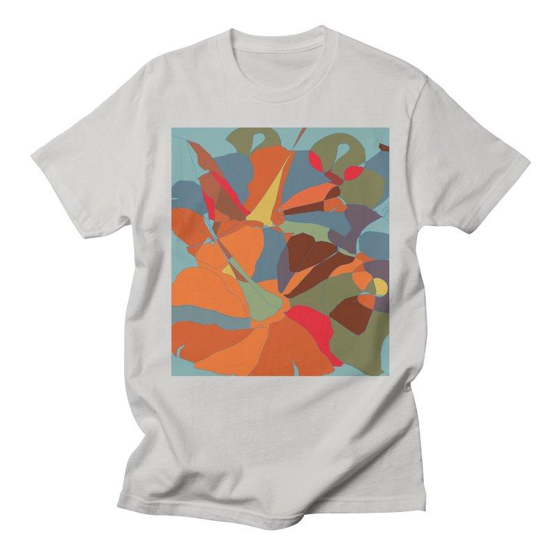 Pumpkin abstract Men's Regular T-Shirt by snapdragon64's Shop