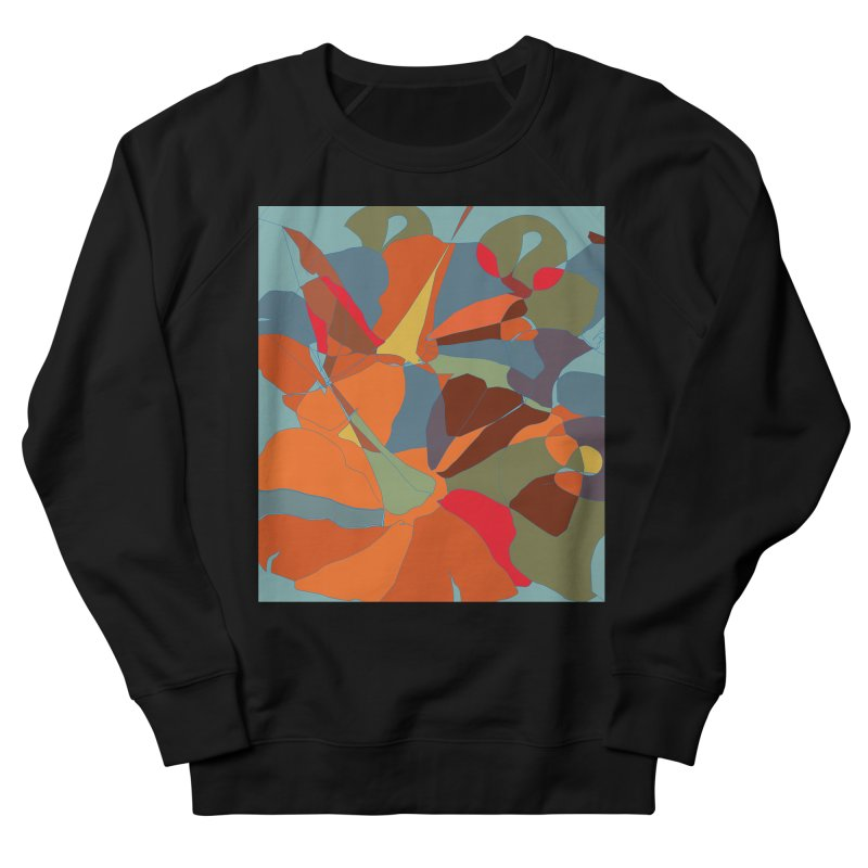 Pumpkin abstract Men's French Terry Sweatshirt by snapdragon64's Shop
