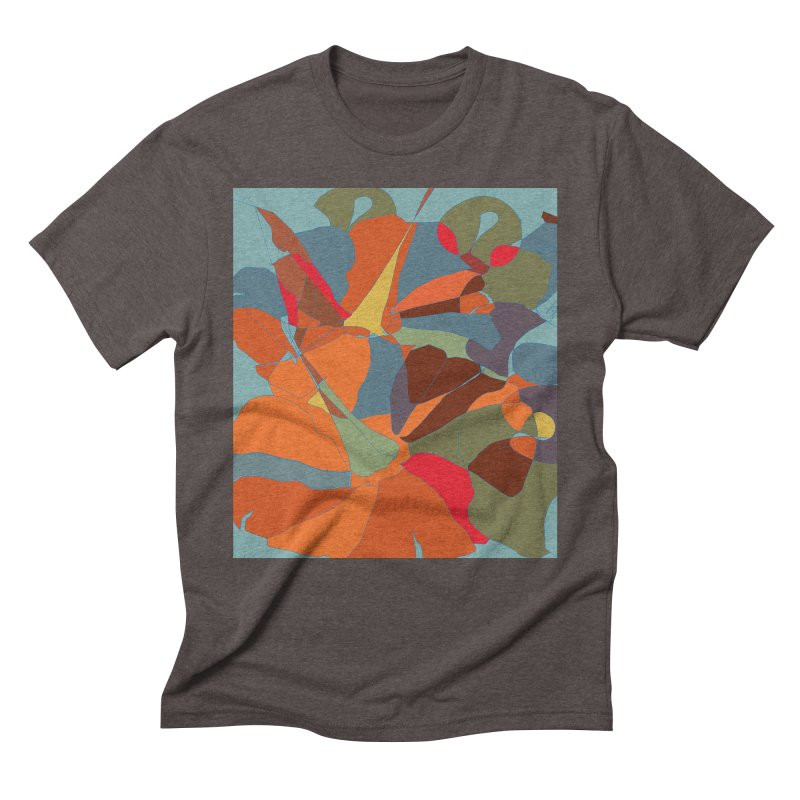 Pumpkin abstract Men's Triblend T-Shirt by snapdragon64's Shop