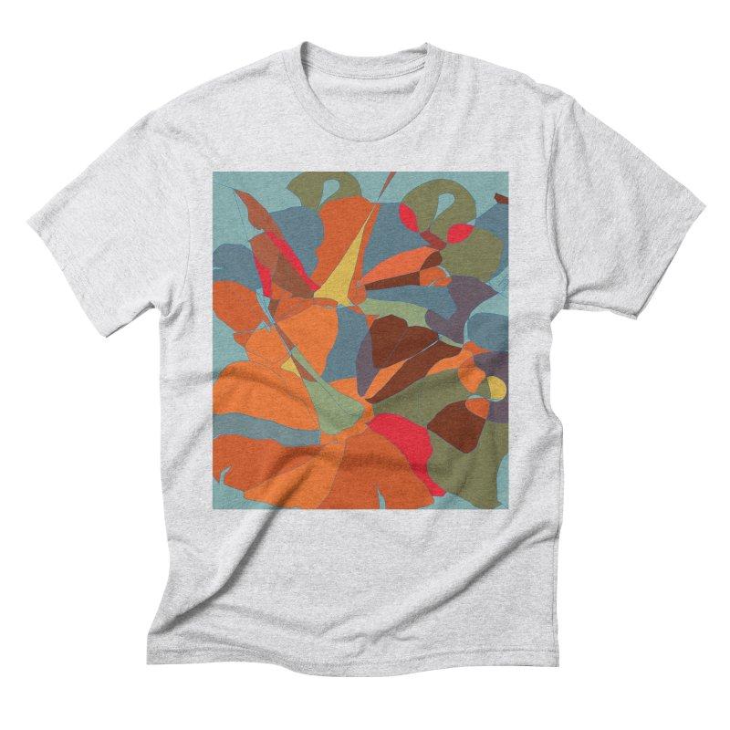 Pumpkin abstract Men's Triblend T-Shirt by snapdragon64's Shop