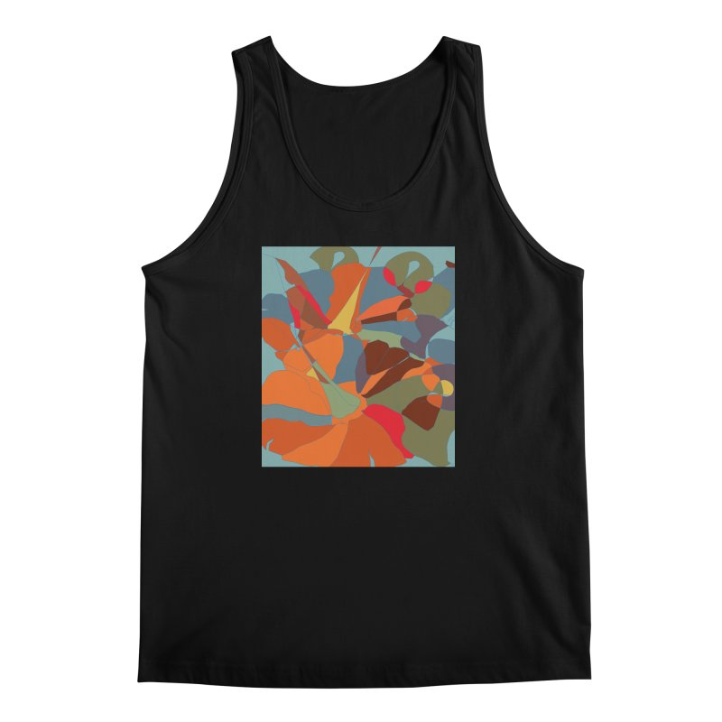Pumpkin abstract Men's Regular Tank by snapdragon64's Shop