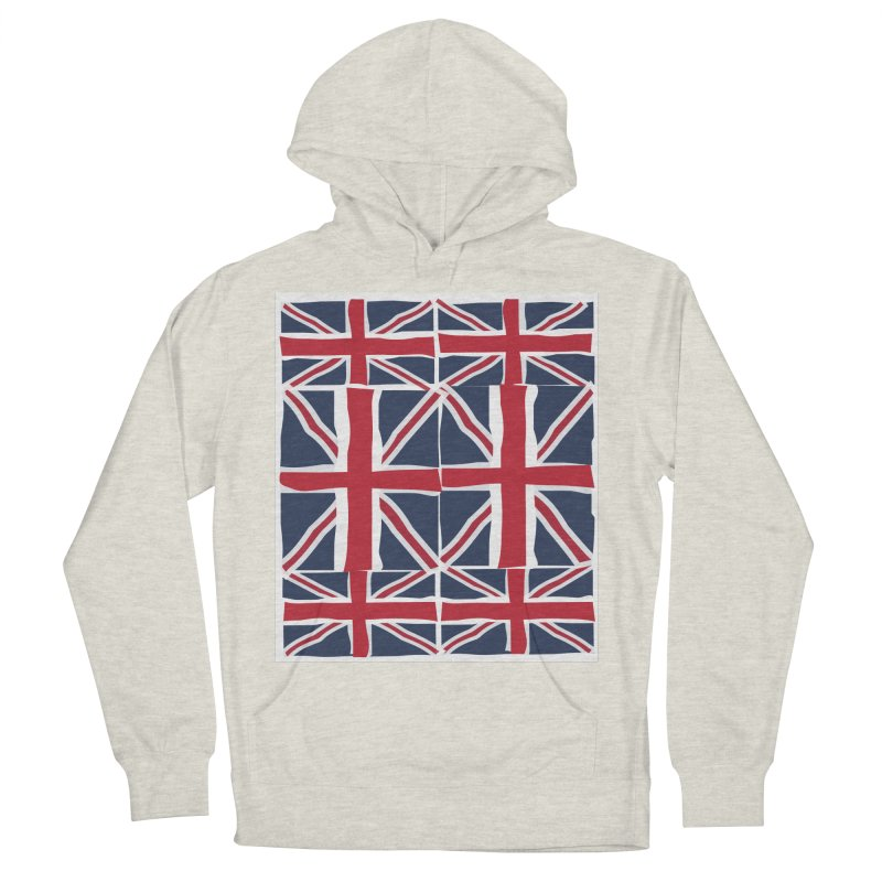 Union Jack pattern Men's Pullover Hoody by snapdragon64's Shop
