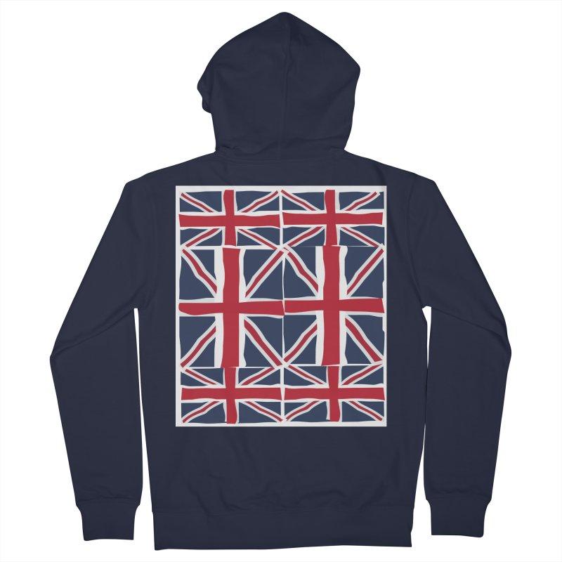 Union Jack pattern Men's Zip-Up Hoody by snapdragon64's Shop