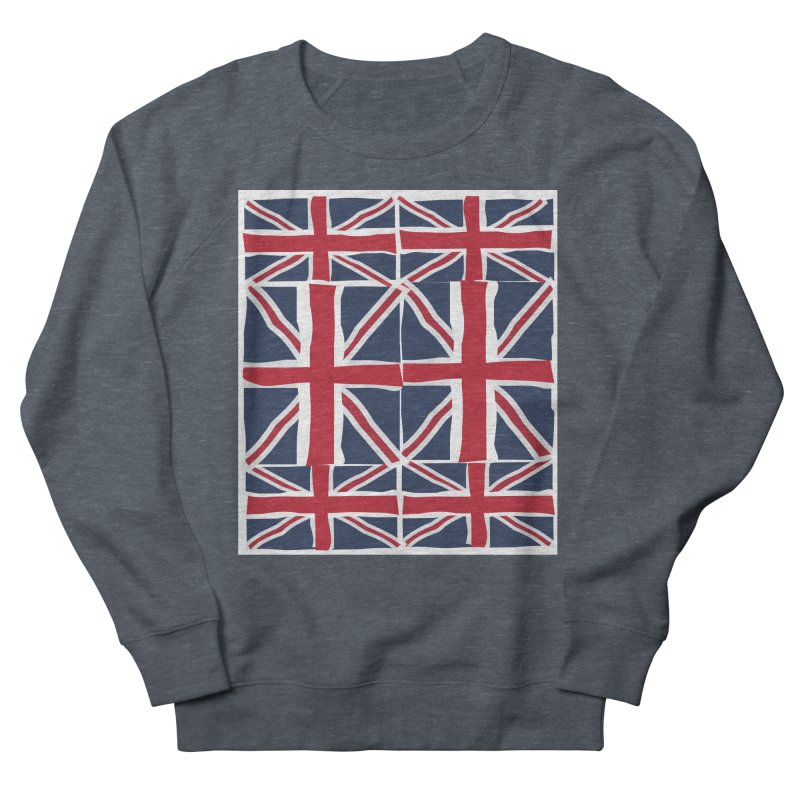 Union Jack pattern Men's Sweatshirt by snapdragon64's Shop